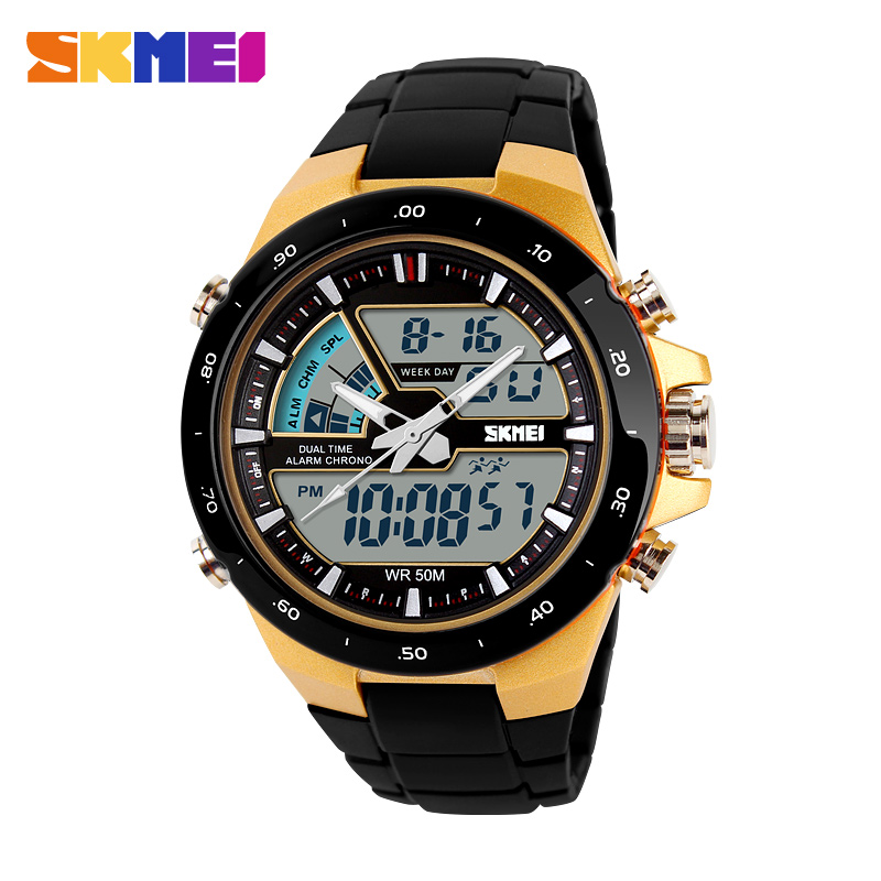Alibaba express colorful strap ABS plastic case watch 3ATM waterproof men wristwatch