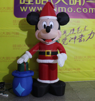 Inflatable Christmas Mickey Girl for Outdoor Decoration