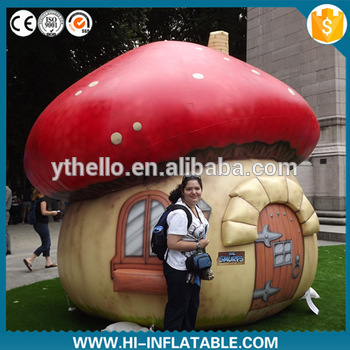 Giant inflatable mushroom tent for kids/inflatable mushroom house for sale  sc 1 st  Yantai Hello Inflatable Co. Ltd. & Giant inflatable mushroom tent for kids/inflatable mushroom house ...