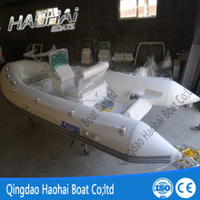 4.2m inflatable rib boat mini yacht