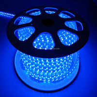 High Voltage UL Listed Waterproof 110V 4.32W/FT 328FT Roll 80RA CRI 5050SMD LED Tape LED Strip