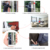 Wireless Phone SIM Car WIFI 3G GSM Home Burglar Security GSM Alarm System Support APP built in battery