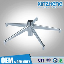 Customization precision furniture components office chair arm aluminum die casting