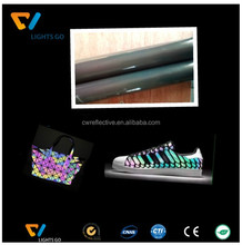0.8MM reflective PU leather for shoe