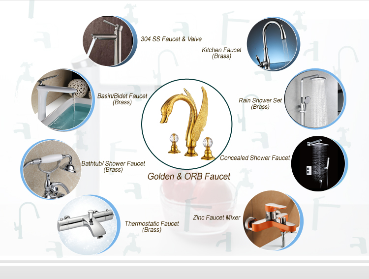 (A0074) The best choice single lever waterfall faucet,unique faucet,artistic brass faucets