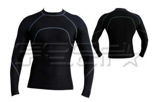 Bodybuilding Fitness Running Compression Base Layer FitnessTights Long Sleeve Tops Shirts for Men