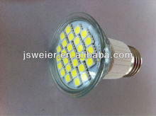 High lumen 5050smd 100lm/w base e27 led spotlights