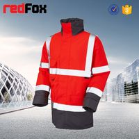 wholesale cheap high quality reflective safety women's coat