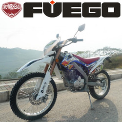 ZS250CC Dirt Bike Off Road Motorcycle MX MOTOCROSS 200CC 250CC Air Cool Electric Kick Start 5 Gears Transmission