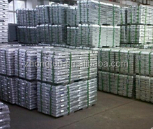 99.995% high purity Zinc ingot