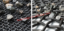 stainless steel crimped wire mesh,vibration screen & sieving mesh