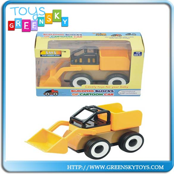 Educational toys sliding series building blocks car for sale