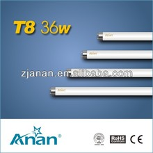 T8-36W t8 fluorescent tube light fittings price list hot sale