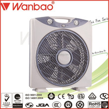 2017 new design 12 /14 /16 inch box fan small household appliance office use bed fan