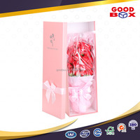 Luxury customized paper cardboard flower packaging box