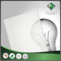 Quality assured new style acrylic sheet white board for led light
