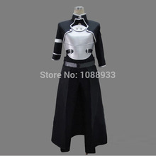 Sword Art Online Costume GGO Gun Gale Online Kirito Fantasy Men Anime Cosplay Costume Swordman Carnival Costume Any Size Custom