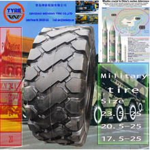 armor tire military tire ISO quality safe bulletproof tire