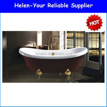 Cheap Price Hot Sale Luxuary Queen Lady Acrylic Indoor Freestanding Bathtub Made In Fosha In Bathroom NO.7043