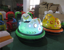Kids And Adults Indoor Electric Bumper Cars Game Candy Bear Bumper Car