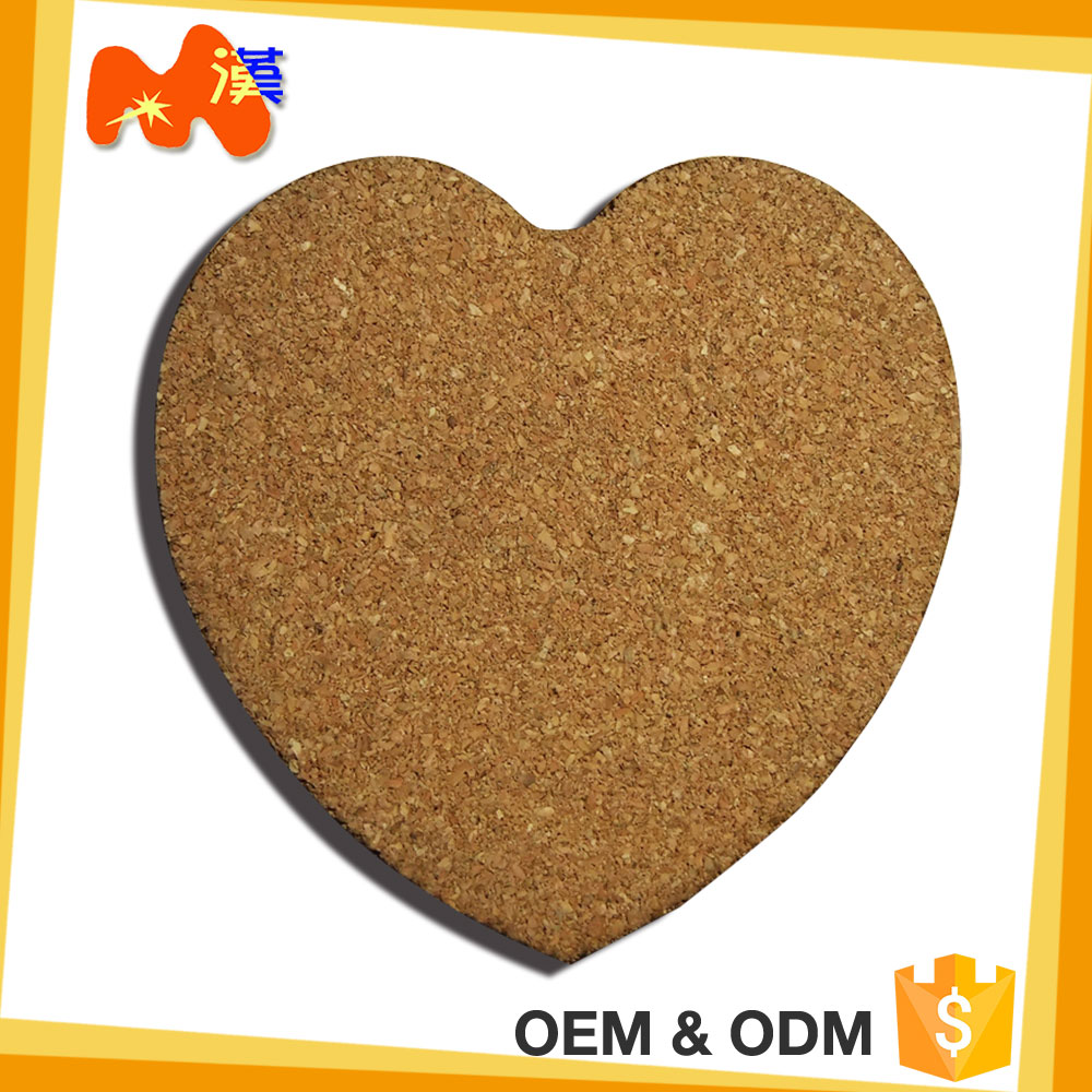 Heart-shape Q301 sublimationblank MDF coaster