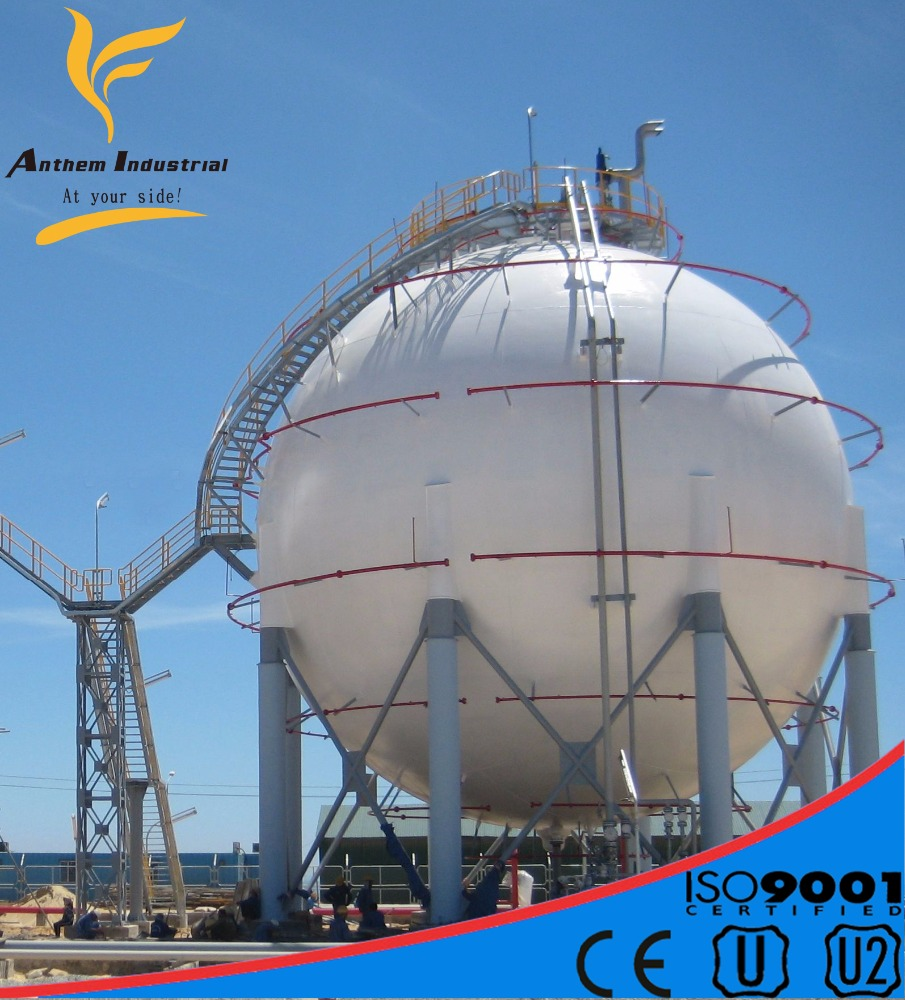 China manufacturer asme lpg storage tank with certificate