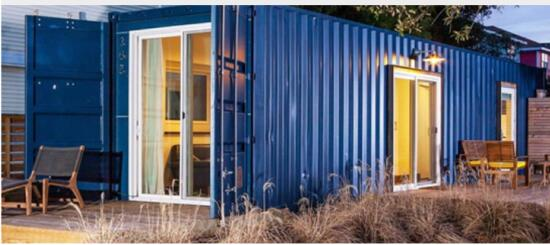 20ft folding prefab container home foldable quick assembly cabin