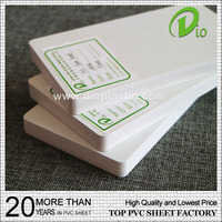 wholesale weather resistance 6mm pvc foam board for advertising