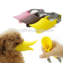 pet products latex dog mask Duck-face Dog Muzzle duckbilled Bark bite stop