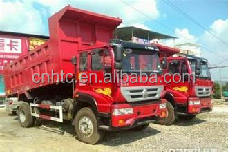China 8-10ton Small 4x2 Dump Truck For Sale