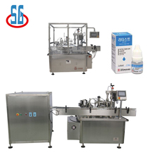SG Automatic 5ml/10ml/25ml Plastic Bottle E-Liquid Feeding Bottle Filling And Capping Machine