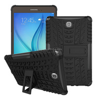 Dual layers protective hybrid Gel case for Samsung Galaxy Tab A T350 8""