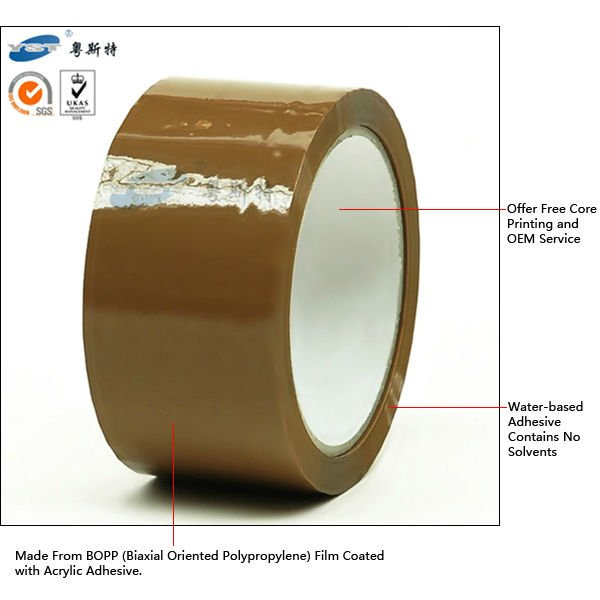 High Quality Carton BOPP Packing Tape