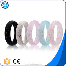 Amazon Hot Selling Silicone Wedding Ring For Women