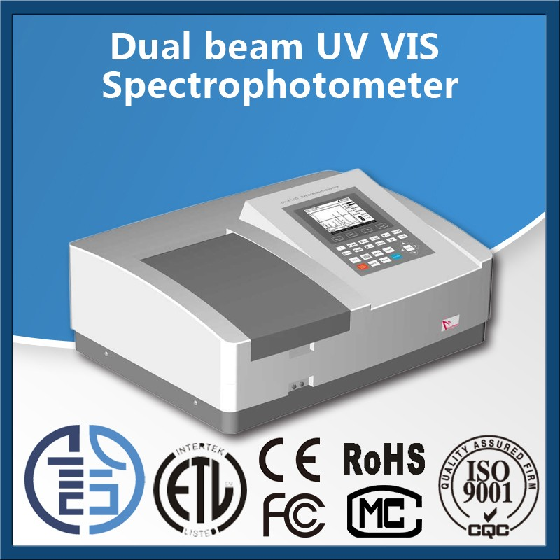 UV-6 series uv vis Double Beam Spectrophotometer manufacturers types