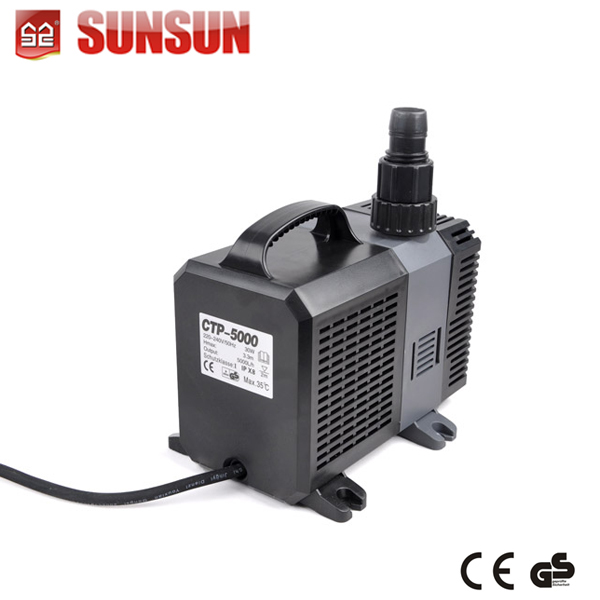 CE/GS factory garden submersible fountain pump pond pump Single-stage Pump