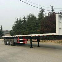 China Trailer Truck Prices Container Chasis