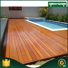 waterproof outdoor bamboo deck flooring , solid bamboo flooring