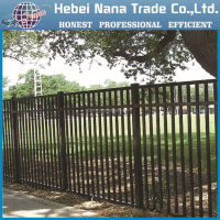 aluminum decorative flower garden fence