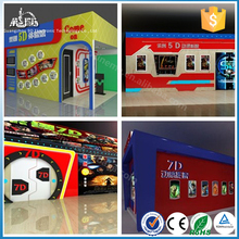 Long Life Span 8D/9D/Xd Cinema Kids Games Electronic System