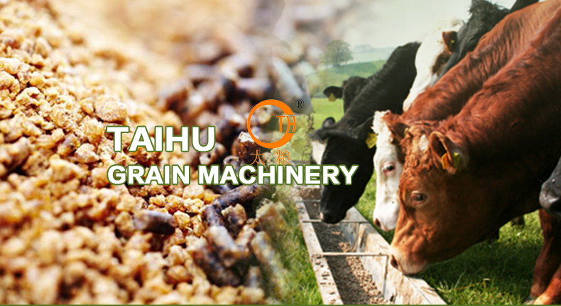 Top best quality cattle feed cooling machine High security