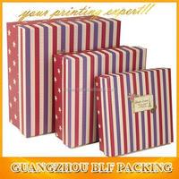 (BLF-GB963)zebra print gift box