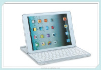 Stand Aluminum Case Cover with Bluetooth Keyboard for Apple iPad 2/3/4