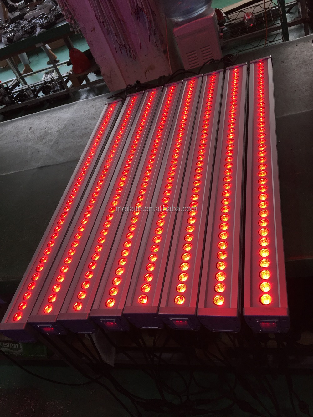 36pcs high power 36 x 3w rgb outdoor ip65 DMX led wall washer