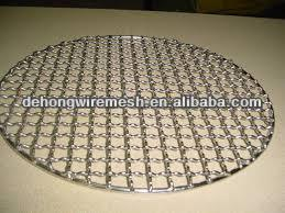 Round Shape Barbecue Wire Mesh competitive price