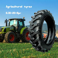 8.3-20-8pr bias agricultural tractor tyres used in drive wheels with good enduration