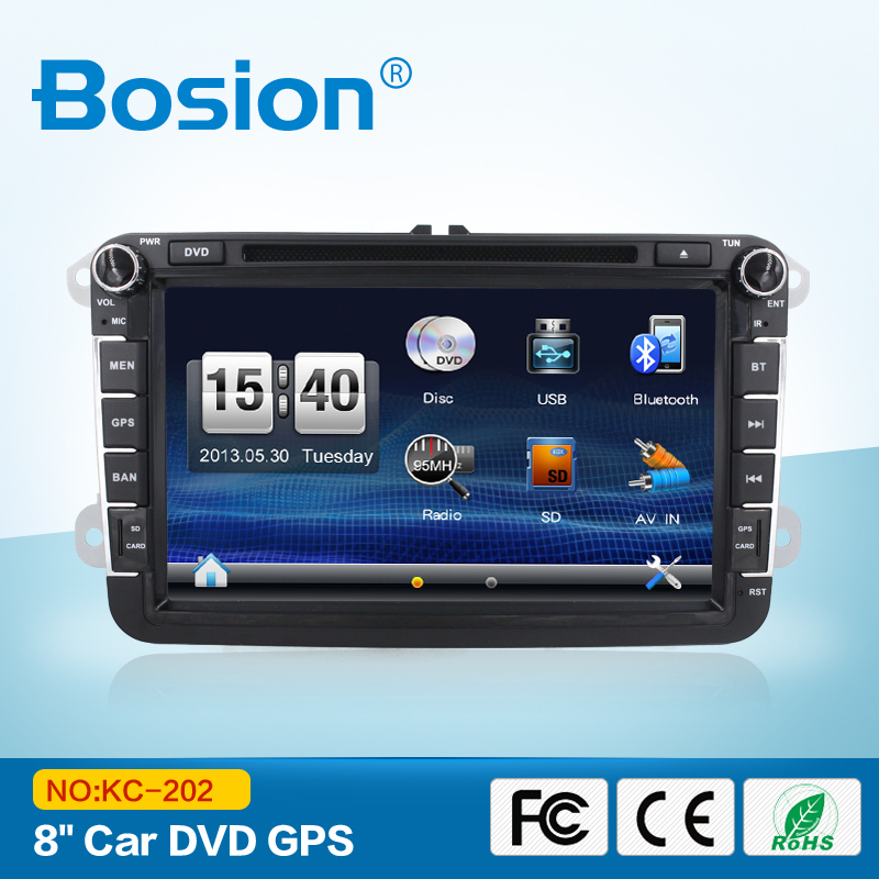 "US in Dash 8"" Double 2 Din Car Stereo Radio DVD CD Player Bluetooth + Camera o"