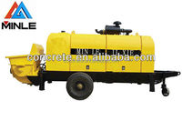 Diesel Engine Stationary concrete pump 60m3/h for sale in Russia