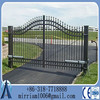 Suspend Sliding wrought iron Gate