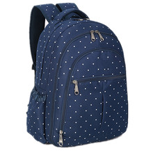 Wholesale Diaper Bag Backpack With White Dot printing
